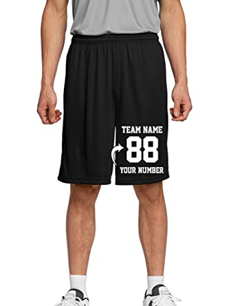 78e883a4b Tee Miracle Custom Youth Basketball Shorts - Make Your Own Short -  Personalized Team Uniforms