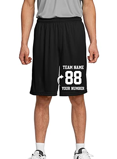 f6515369a571d Tee Miracle Custom Adult & Youth Basketball Shorts - Make Your Own Short -  Personalized Team Uniforms
