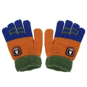 d353082300a59d Domybest 手袋 ミトン 秋冬 キッズ手袋 子供用 グローブ 5本指 女の子 男の子 防寒 通学