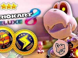 Amazon Com Watch Clip Mario Kart 8 Deluxe Gameplay Zebra Gamer