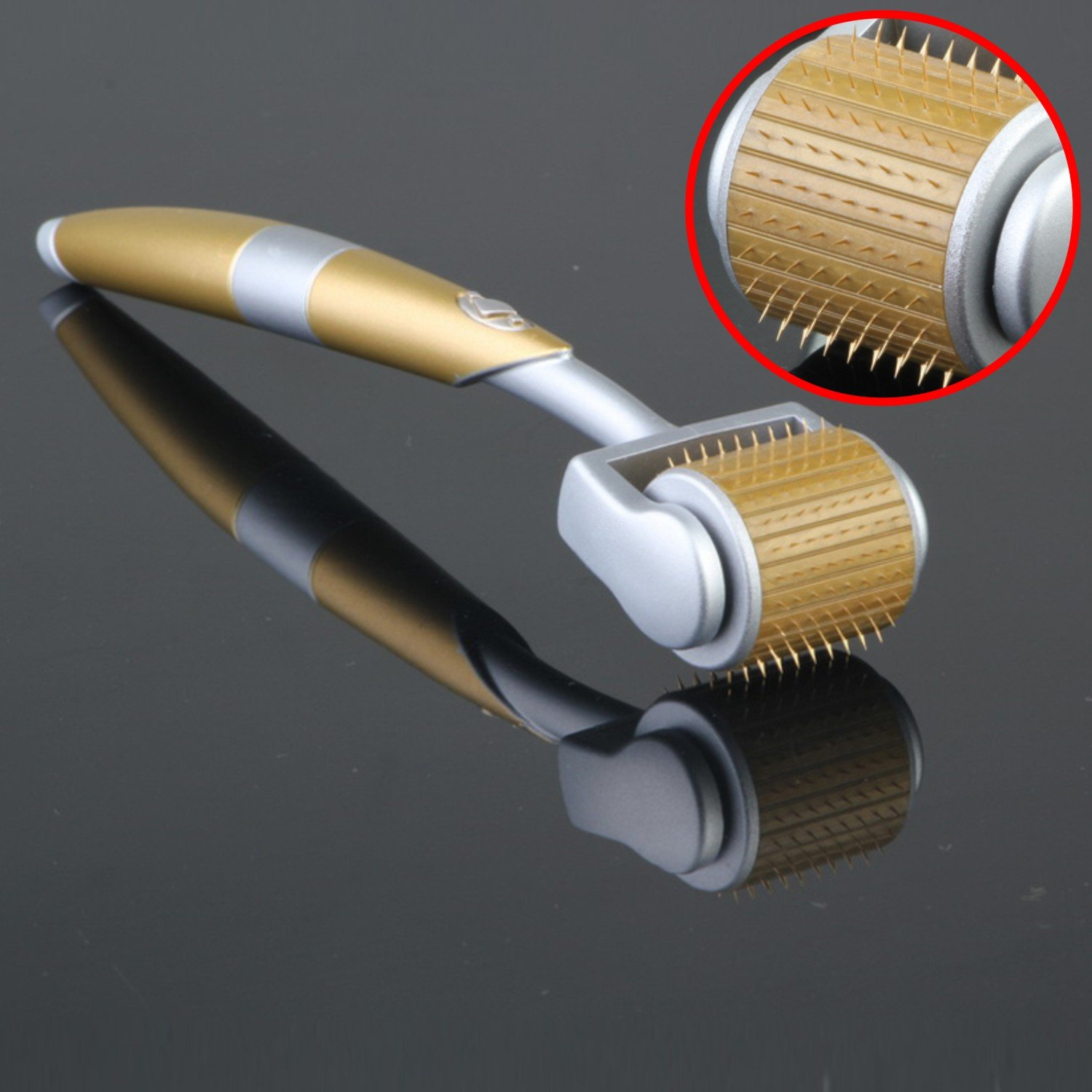 Derma Roller 0.25mm Micro Needle Roller Skin Care Titanium Dermaroller for Anti-Ageing Acne Wrinkles Hair Loss Feili