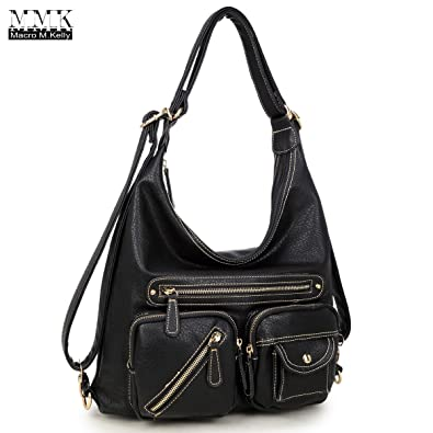 1a7b2466a12 MMK collection Women Fashion Shoulder Backpack (6331)~Designer Purse Hobo  bag for Women