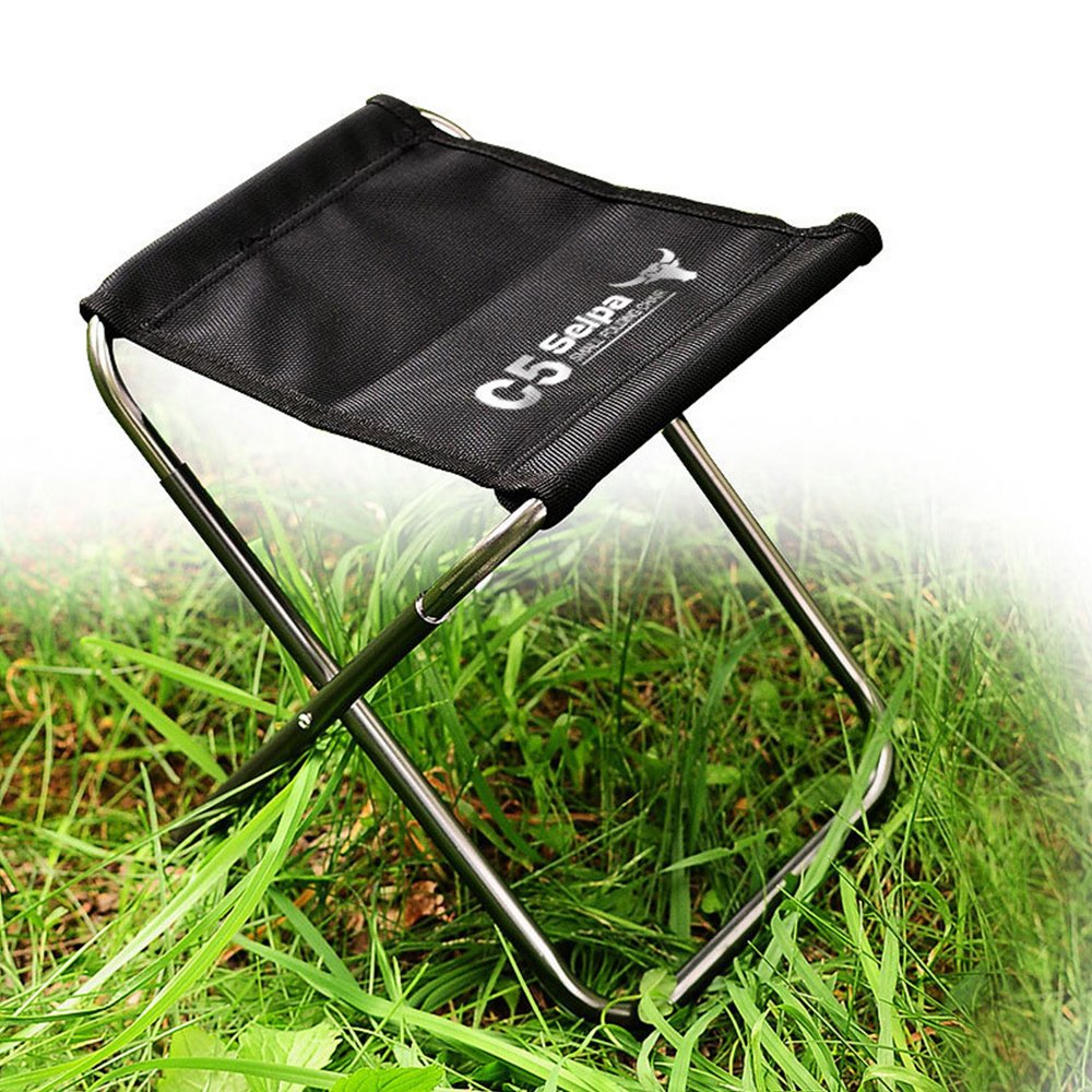 TOPCHANCES C5 Premium Lightweight Outdoor Fishing Chair Portable Folding Backpack Camping Oxford Cloth Foldable Picnic Fishing Chair with Carrying Bag by TOPCHANCES (Image #4)
