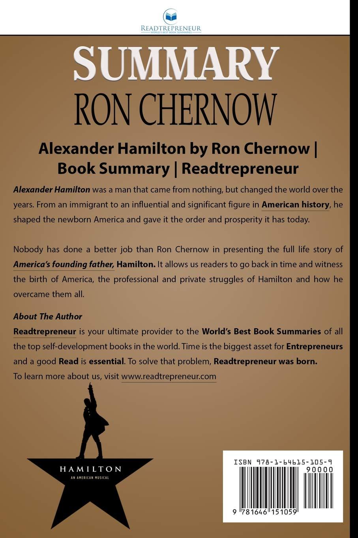 Summary of Alexander Hamilton by Ron Chernow: Amazon.es ...