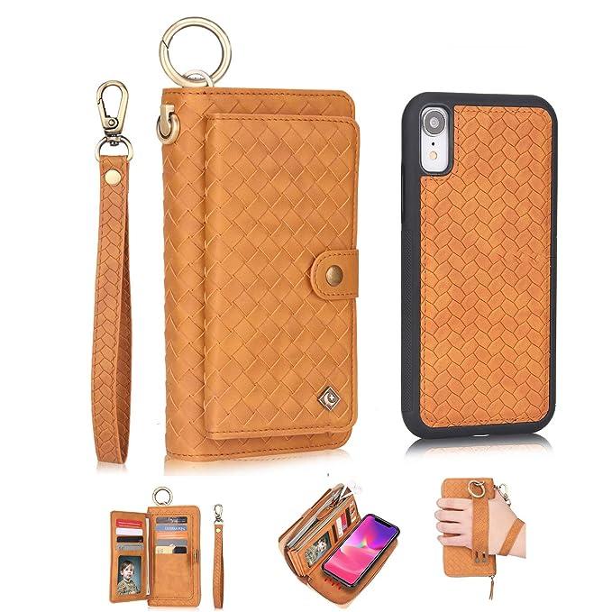 iphone xr folio case leather