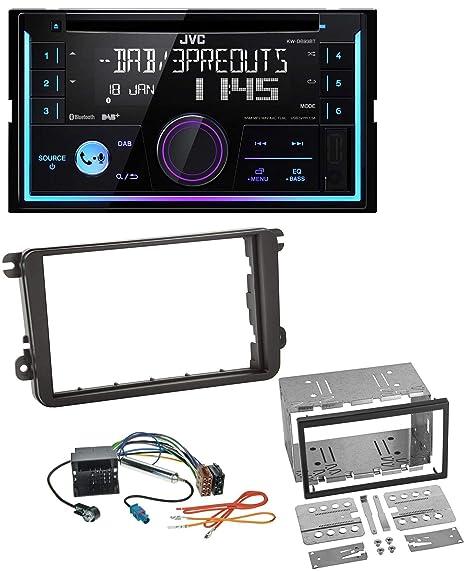 Jvc db93bt Bluetooth DAB CD MP3 2DIN USB Radio de coche para Skoda Praktik Superb Yeti