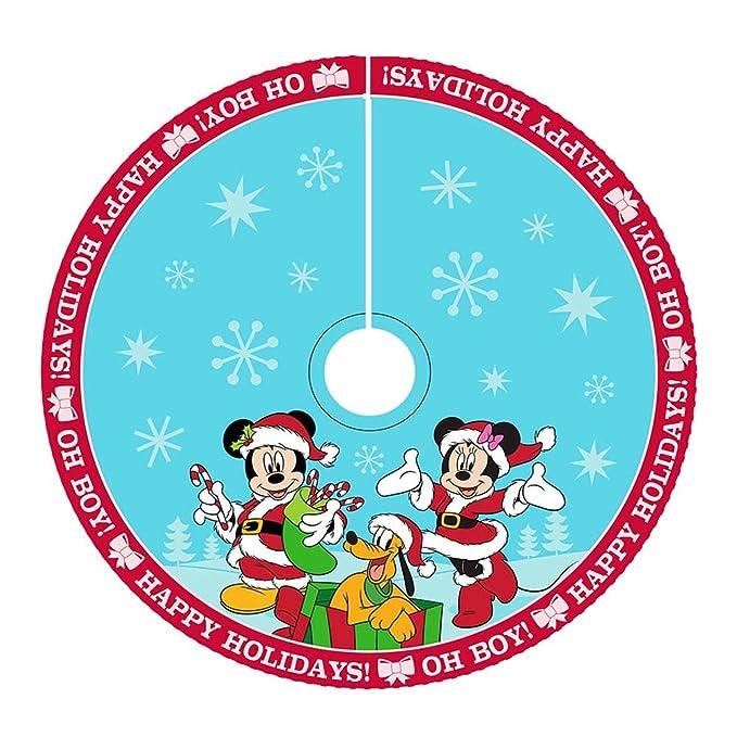 Amazon Com Kurt Adler 48 Inch Mickey And Minnie Print Satin