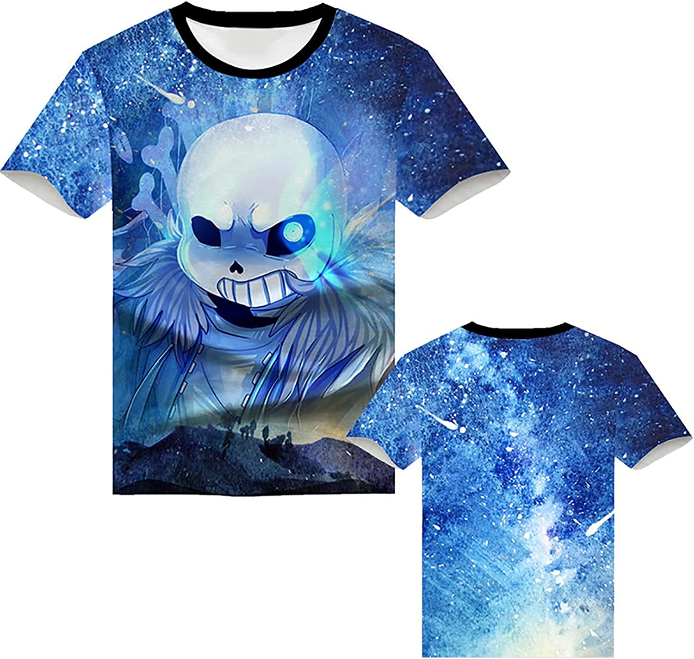 shuihua Unisex Anime Impreso T-Shirts BRANDEALE STARNE CASTOS ...