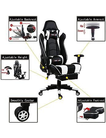 Storm Racer ergonómico Gaming Chair Silla de Respaldo Alto ...