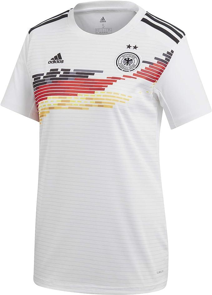 adidas Damen DFB Frauen WM 2019 Heim Fußballtrikot weiß M