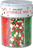 Festival Holiday 6-Cell Sprinkle Mix, 6.4 Ounce