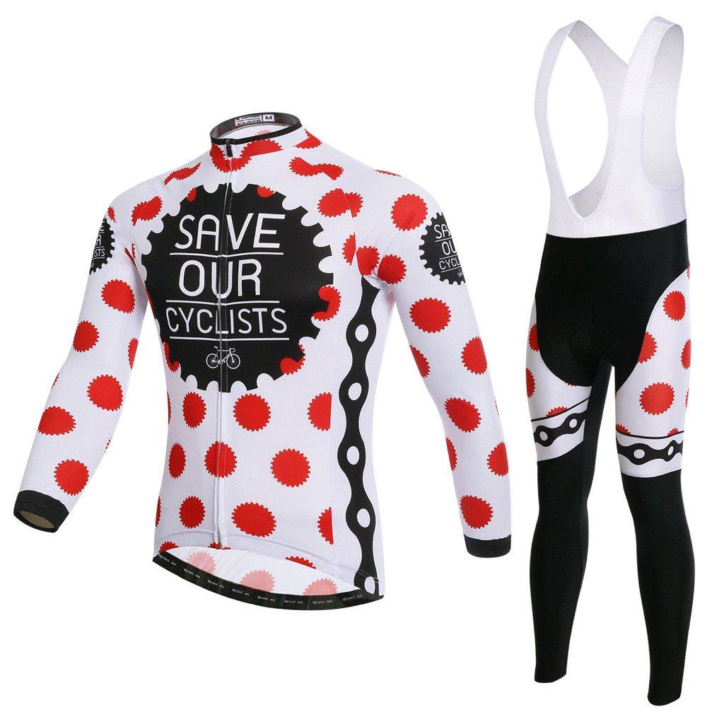 LongSpoz Spoz Men Cycling MTB Trend Grün Gel Padded Jersey Set