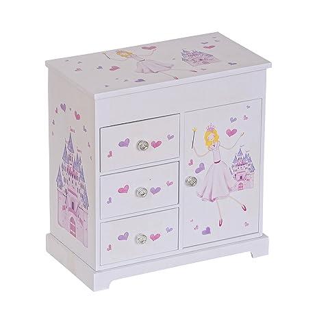 Amazoncom Mele Co Adalyn Girls Musical Ballerina Jewelry Box