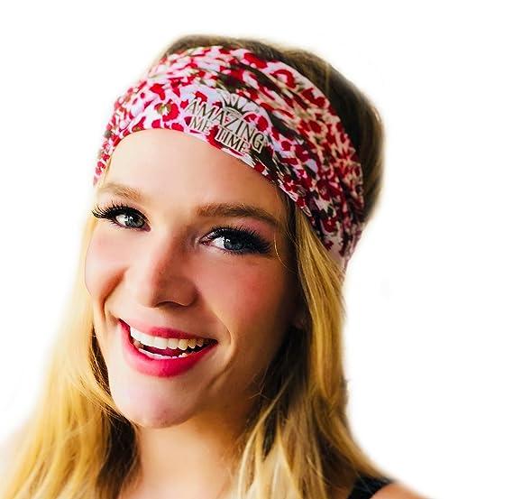 e0f292106b10 Amazon.com  workout headbands for women multi-function yoga