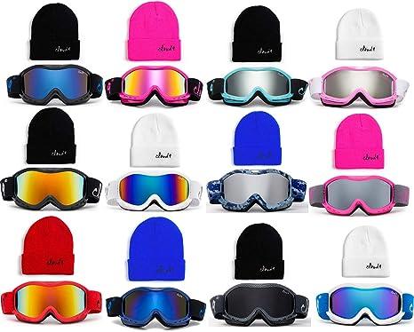 4b7211092150 Cloud 9 - Kids Boys   Girls Professional Ski Goggles Anti-Fog UV400  Protection Wind