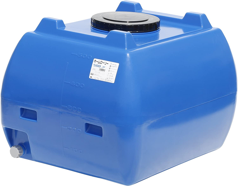 スイコー ホームローリータンク 500L (ブルー) B00IIJGB2G 10346