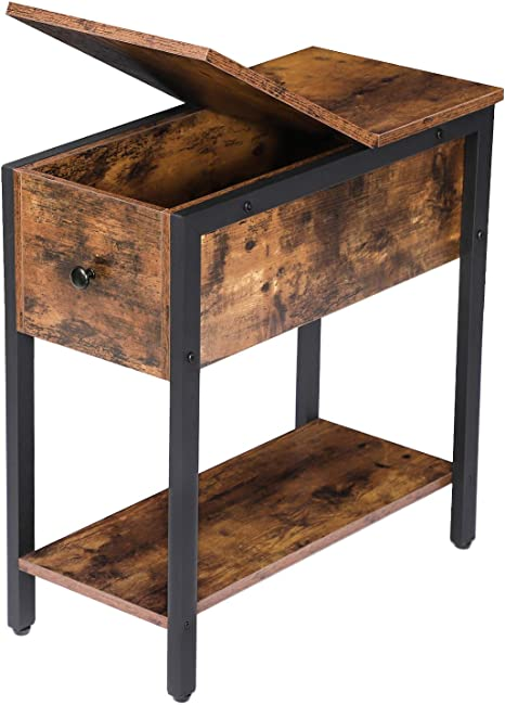 small table wood table Rustic End Table Rustic night stand End table