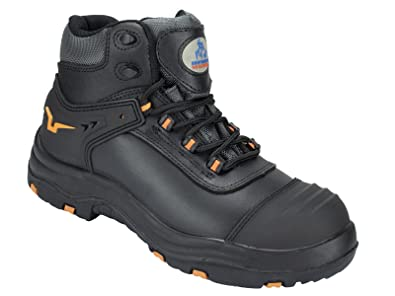 8b1a7909ed6 Dynamic Safety Work Boot, High Ankle Waterproof Leather with Composit Toe  Cap