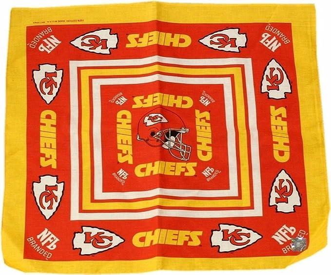 new products 87b74 4fd47 Kansas City Chiefs Bandana 22 x 20