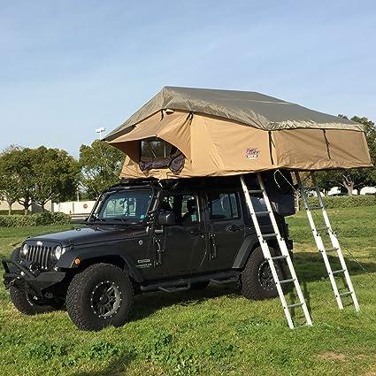 Image Unavailable & Amazon.com : Tuff Stuff Elite Rooftop Tent with Annex Room 4 Person ...