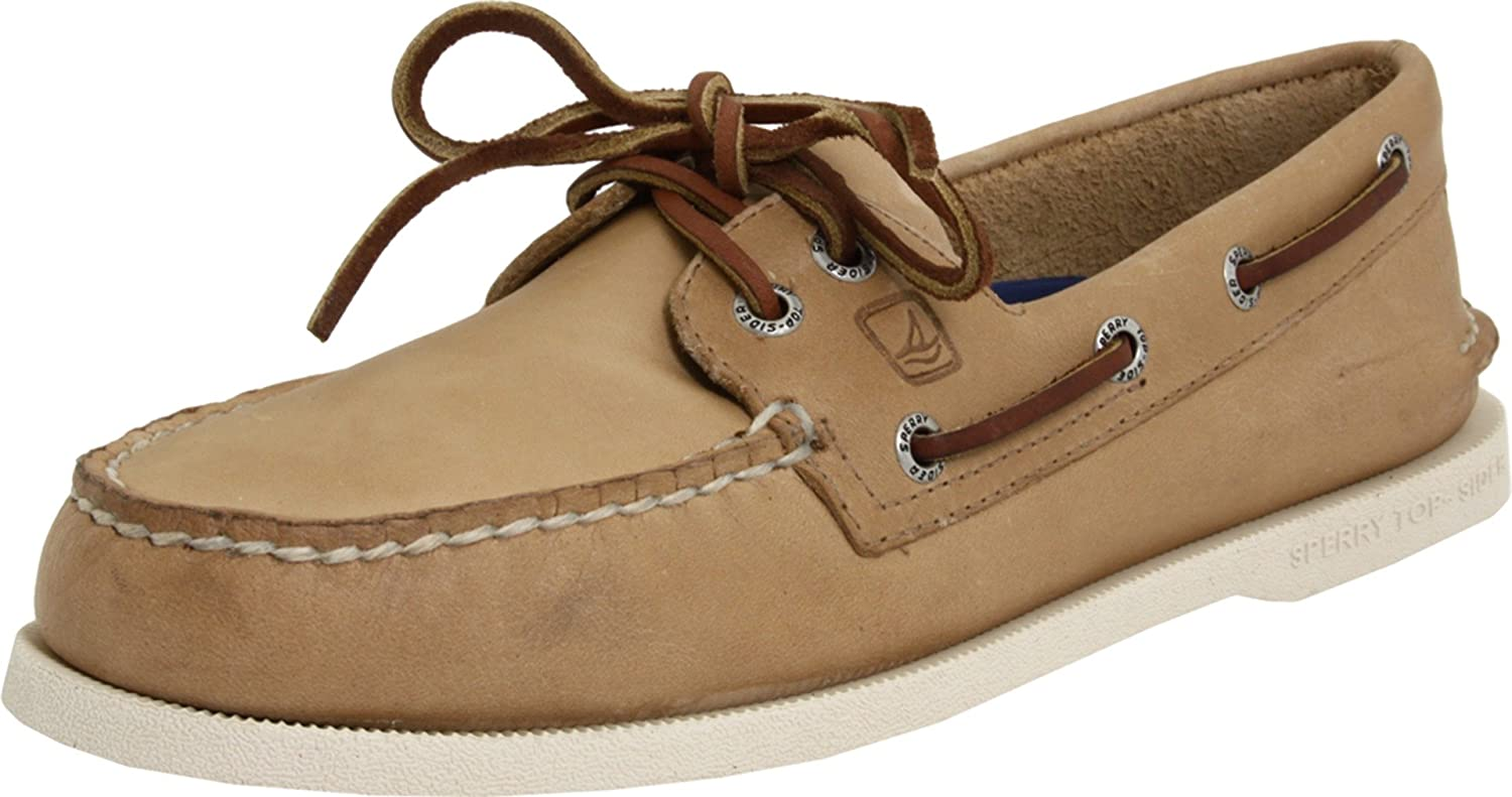 Sperry Top-Sider Mens A/O Boat Shoe  10 2E US|Oatmeal
