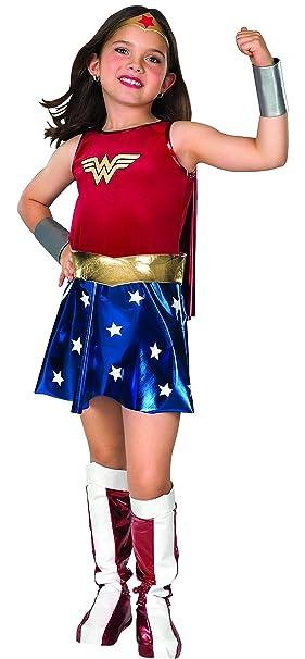 Rubies Déguisement de Wonder Woman pour enfant costume pour 3-4 ans ... 0047874309ce