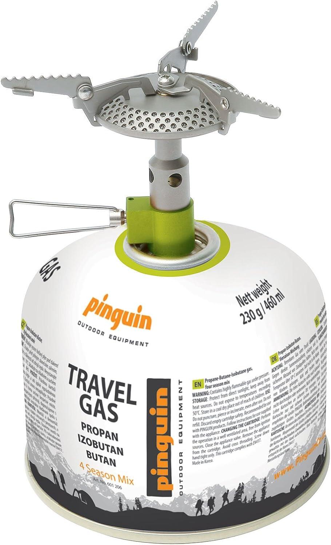 Pingüino - Hornillo de gas para camping (titanio, 48 g)