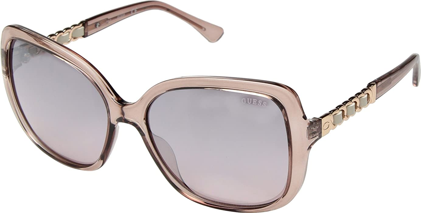 d66bcd51fc8 GUESS Factory Women s Braided Square Sunglasses - Amazon Mỹ