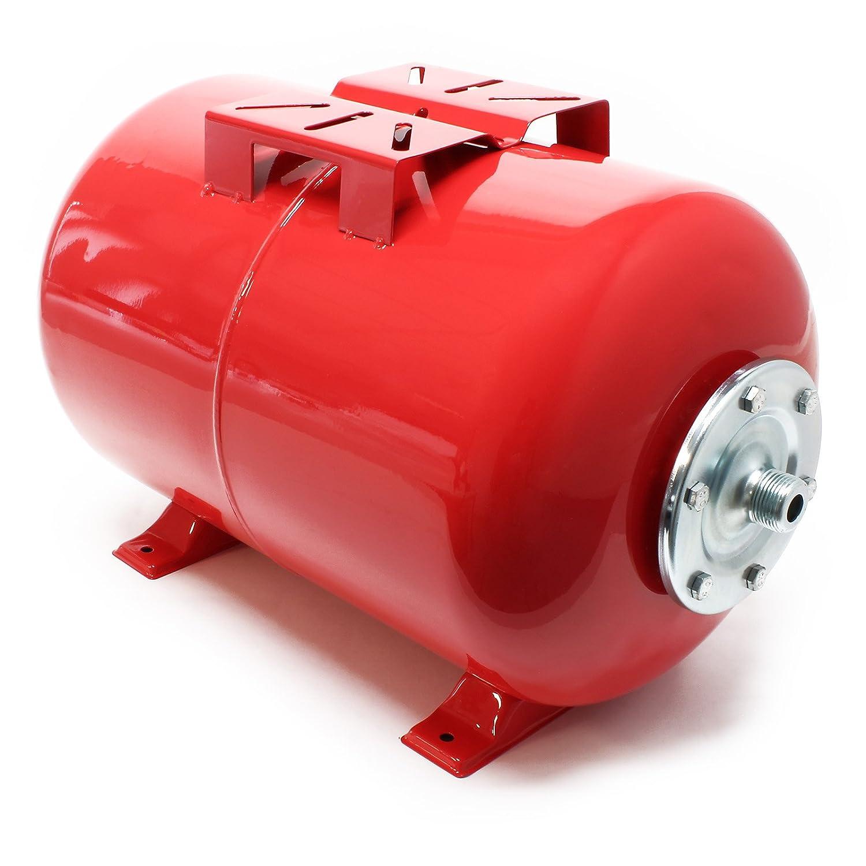 50Litres Réservoir pression à vessie pour la surpression domestique cuve ballon, suppresseur pompe WilTec 50640