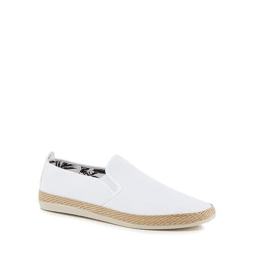 Unique Blanc Espadrilles Flossy Taille Pour Homme qxwUt0xXC1