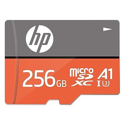 256 GB U3, A1 MicroSDXC Tarjeta de Memoria de Alta Velocidad con Adaptador SD - HFUD256-1V31A