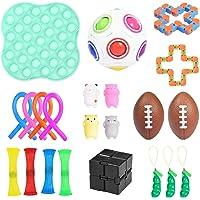 Sensory Fidget Toys Set, 23 st , Sensoriska leksakspaket för stressavlastnings ångest Autism för barn och vuxna…