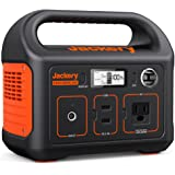 Jackery Portable Power Station Explorer 240, 240Wh Backup Lithium Battery, 110V/200W Pure Sine Wave AC Outlet, Solar Generato