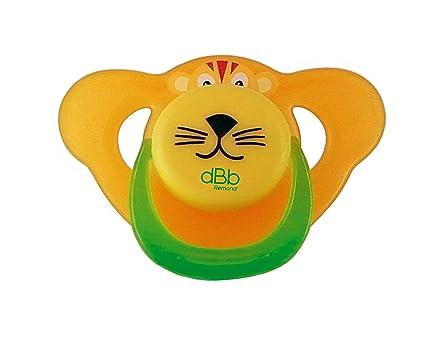 Amazon.com: Lion - Chupete de silicona, color amarillo ...