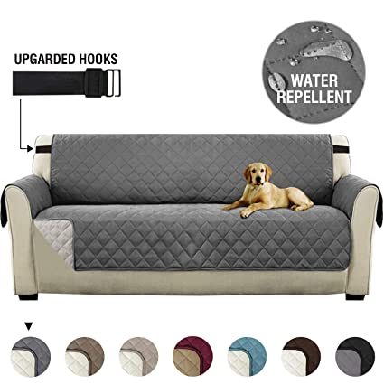 Cool Sofa Slipcover Reversible Sofa Cover Furniture Protector Couch Cover With Adjustable Elastic Straps Seat Width Up To 66 Water Repellent Couch Covers Lamtechconsult Wood Chair Design Ideas Lamtechconsultcom