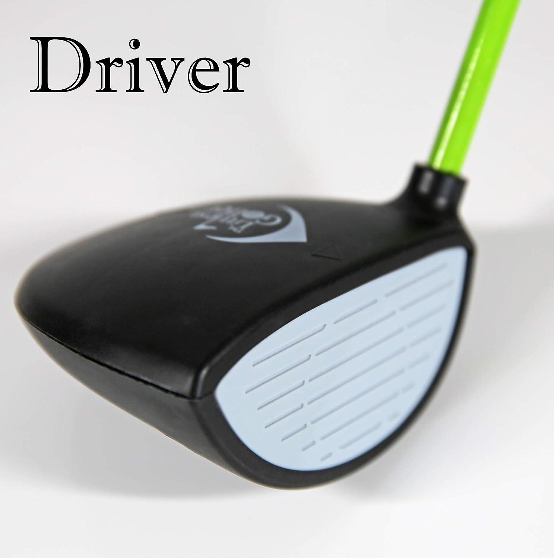 93df6d83001 Amazon.com   The Littlest Golfer Clubset  Kids Golf Clubs w Golf Grips That  Teach Proper Swing Technique   Sports   Outdoors
