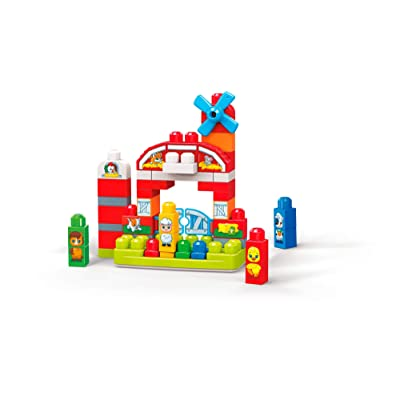 Mega Bloks Musical Farm: Toys & Games