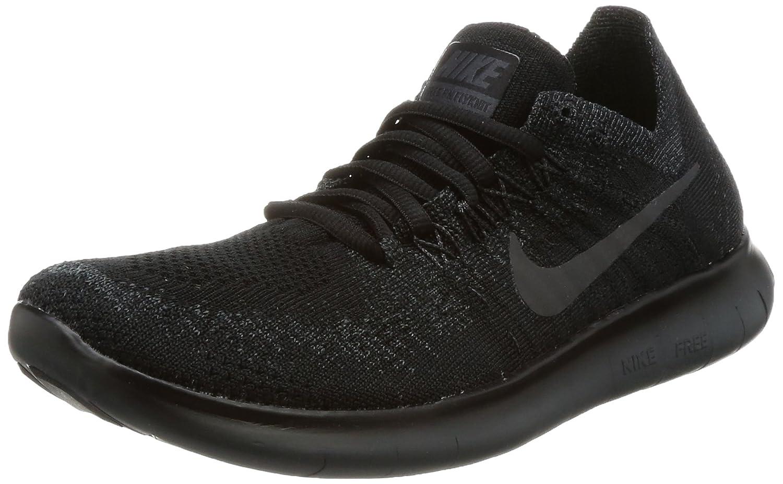 Nike Herren Free Rn Flyknit 2017 Traillaufschuhe, 38 EU  37.5 EU Schwarz