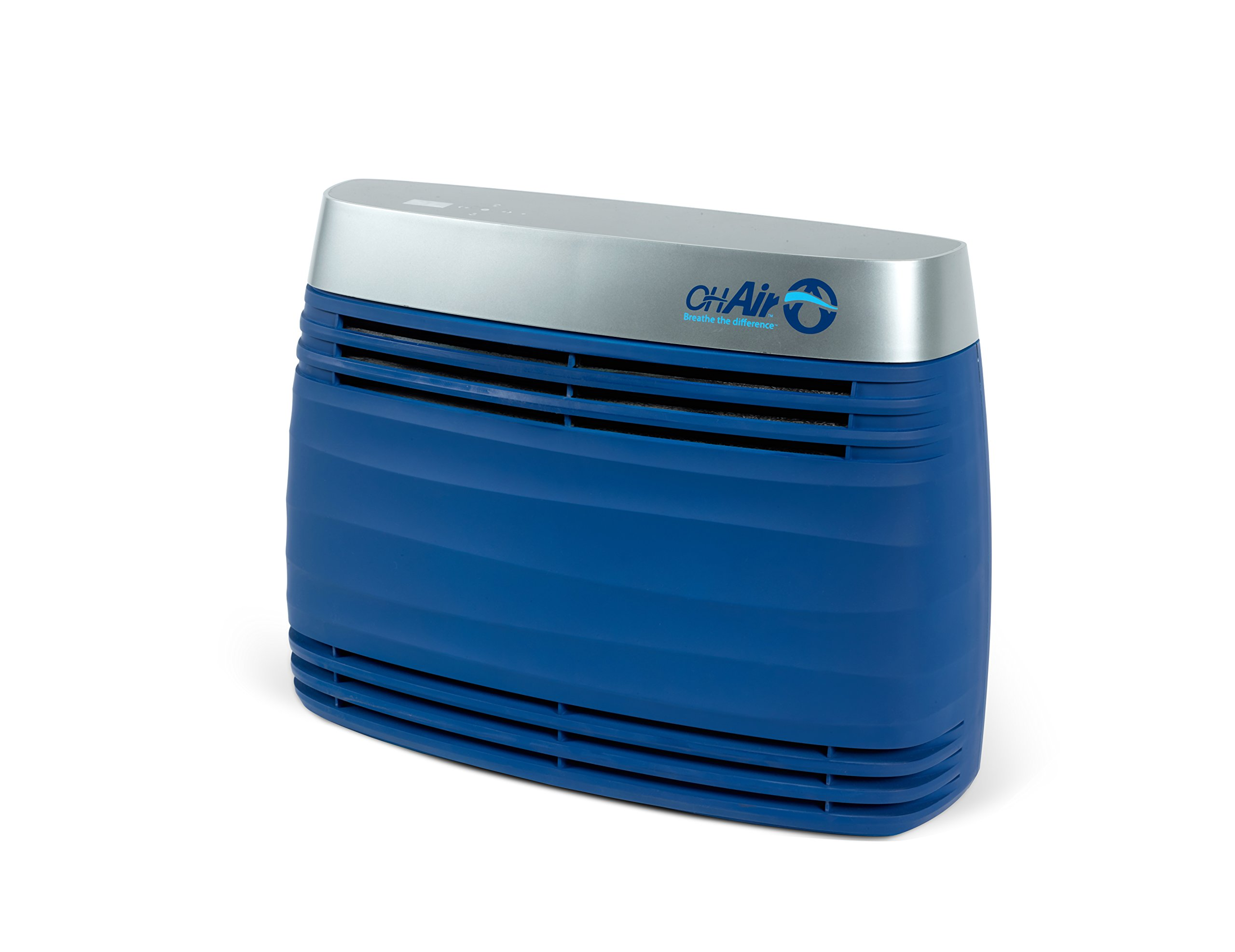 OHAir Portable Air Purifier and Surface Sanitizer For Destroying Allergens, Germs, Mold, Bacteria, Virus And Removing Odors From Cigarette Smoke, Pets And Airborne Chemicals– Blue