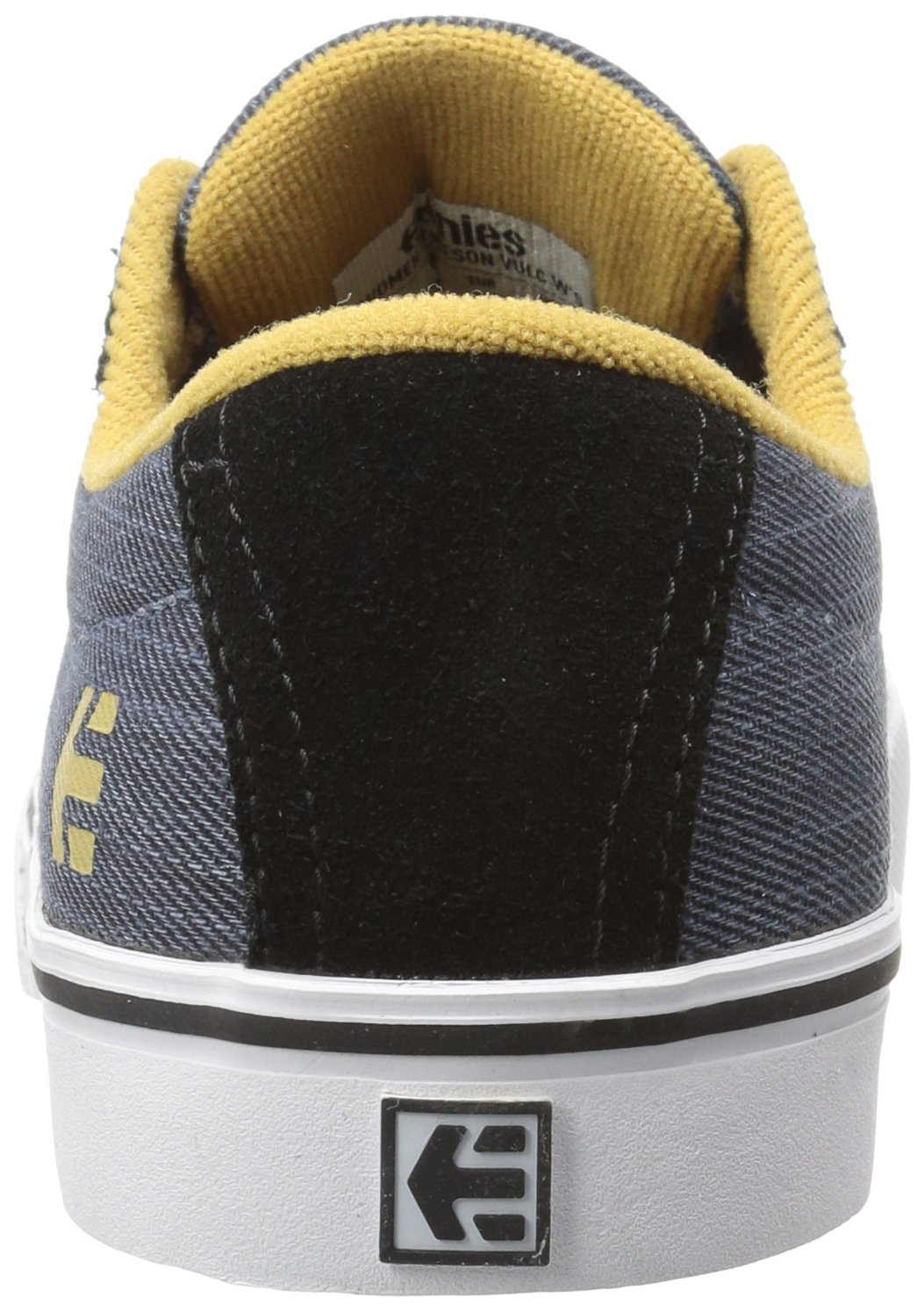 Etnies Women's Jameson Vulc Skate Shoe B01N5SH2IM 8 B(M) US|Black Denim