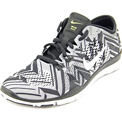timeless design 903ad d13dc Nike Womens Free 5.0 TR FIT 4 Print Training Shoes