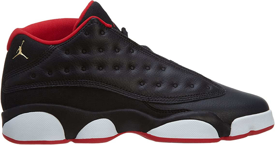 370501792bd AIR Jordan 13 Retro Low BG (GS) 'BRED' - 310811-027. Back. Double-tap to  zoom