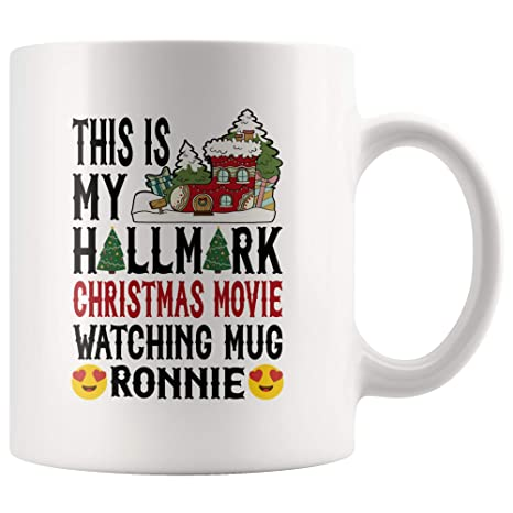 hallmark christmas movie mug personalized name this is my hallmark christmas movie watching mug