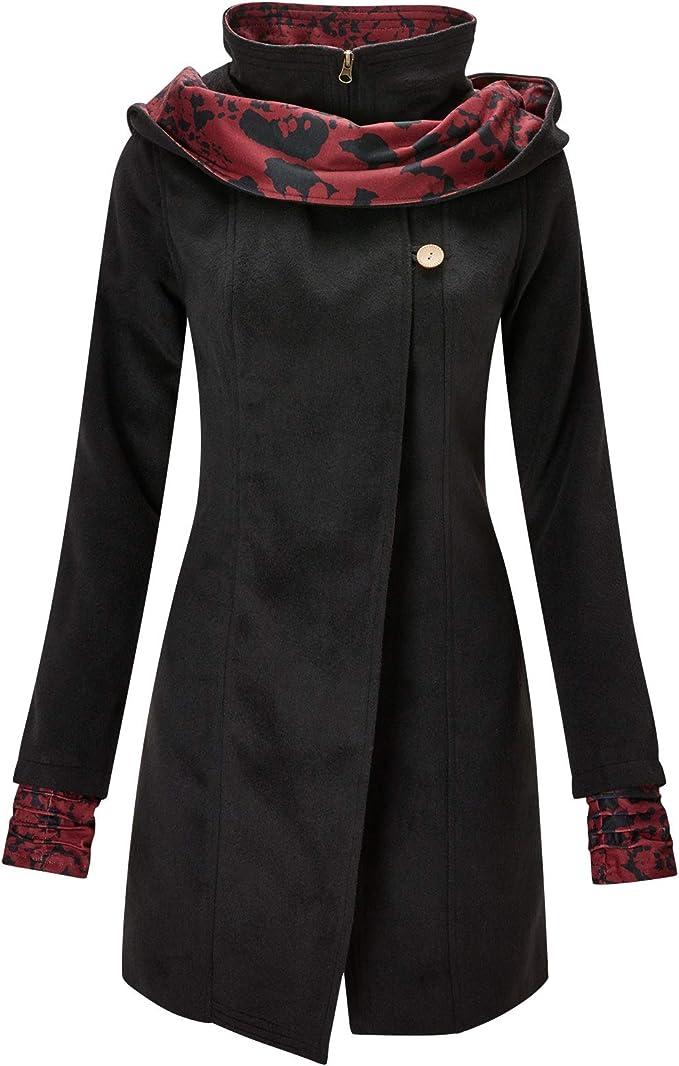 Joe Browns Women/'s Floral Winter Coat with Zip fastening