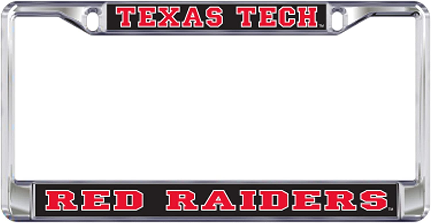 Craftique Texas Tech Plate/_Frame