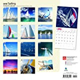 Sailing 2018 12 x 12 Inch Monthly Square Wall