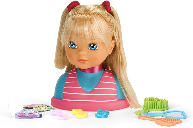 testa bambola da pettinare e truccare amazon