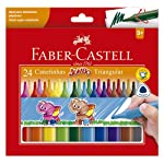 Canetinha Hidrográfica Jumbo 24 Cores, Faber-Castell