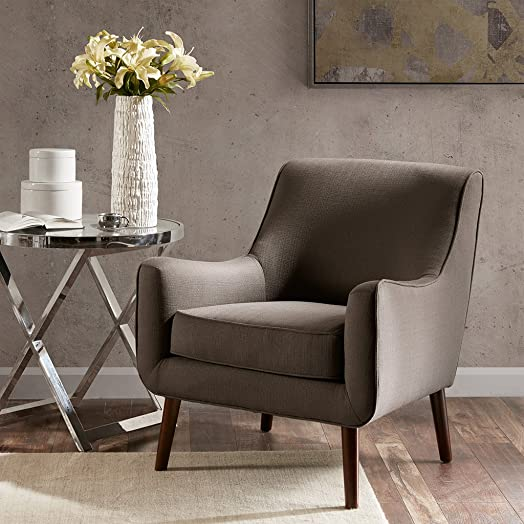 Best living room chair: Madison Park Oxford Mid-Century Accent Chair Grey See Below MP100-0151