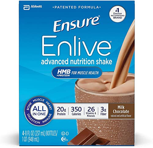 Ensure Enlive Chocolate 8 Ounce Case of 24